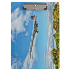"""Concorde Clipboards idea gift for the aviation enthusiast Excellent for note-taking and organizing important papers, these  ultra-sturdy acrylic clipboards will keep you on track and in style. Dimensions:  12.5""""l x 9""""w"""