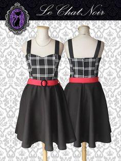 Vestido PIN UP  Vestido Pin up escocés #vestidopinup #vestidoplato #modapinup #estiloínup #vestido  #pinupdress #pinupstyle #pinupfashion #Dresses #escocés #tartan #blancoynegro #ropa #indumentaria #pinup
