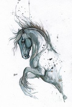 Blue Horse 2014 06 17 Angel Tarantella