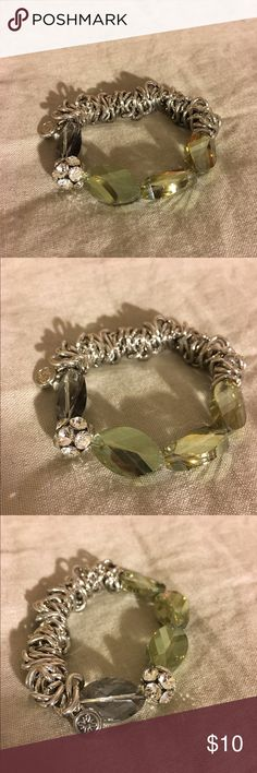 Fun & Exciting Bracelet! This bracelet rocks. It's in great condition and will definitely make you look and feel fantastic!! (Not that you don't already!) Jewelry Bracelets