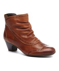 Look what I found on #zulily! Muskat Sarah Leather Bootie #zulilyfinds
