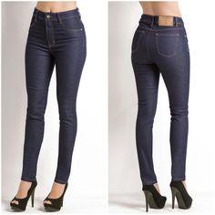 Calça skinny dark jeans