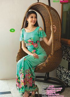 Myanmar Fancy Dress | Hello Madam Catalogue | Myanmar Silk, Myanmar Silk Style, Myanmar Traditional, Myanmar Wedding Dress, Myanmar Fancy Dress , Myanmar Women Affair, Bataik, Gown & Skirt, Myanmar Cotton, Myanmar Zar, Singer Fashion, Skirt, Special color