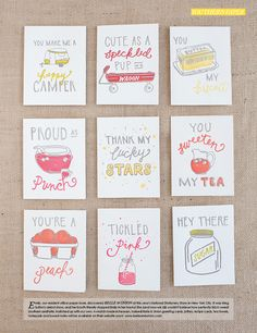 Southern Phrase Letterpress Greeting Cards - Set of 3 | Southern Weddings Shop