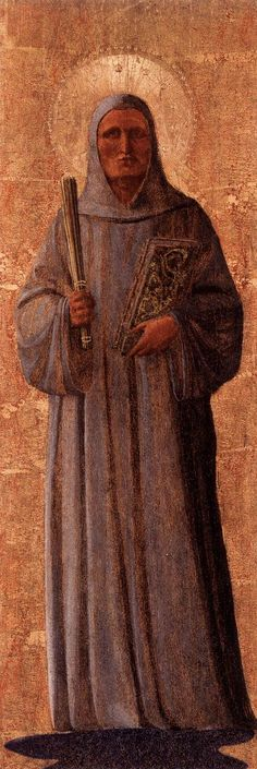 1540 - Bernard of Clairvaux - Fra Angelico