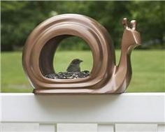 Good Directions Enchanted Snail - Bird Feeder