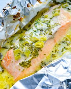 Fish Recipes, Seafood Recipes, Keto Recipes, Healthy Recepies, Looks Yummy, Fish And Seafood, Eld, Clean Eating, Good Food