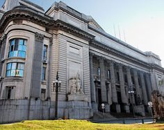 Casa Central del Banco República Oriental del Uruguay (BROU) Ciudad Vieja, Montevideo, Uruguay.