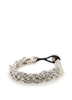 MANGO - TOUCH - Metallic braided bracelet