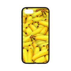 """Yellow Bananas Fruit Pattern iPhone 7 4.7"""" Case"""