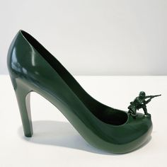 GI Jane 12 shoes for 12 lovers by Sebastian Errazuriz