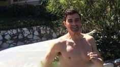 Matt running naked