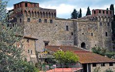 www.vinoturismo.it - Castello Del Trebbio - Florence, Italy.  Another stop on our fabulous wine tour.