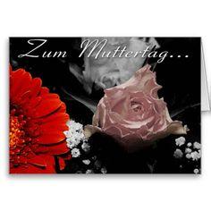 #Blumenkarte zum #Muttertag #Postkarten #gefunden auf #Zazzle.de