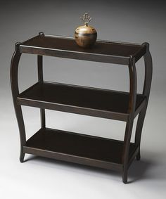 Look at this #zulilyfind! Black Wood Console Table #zulilyfinds