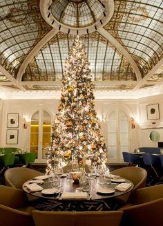 Hôtel Vernet (Paris, 2014) / Agence François Champsaur #christmas