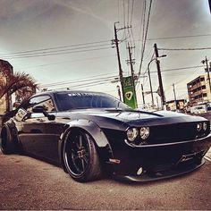 """Wide body Challenger! Customized by @libertywalkkato Follow @car @car @car @car"""