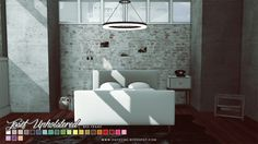 Josef and Scandinavian Bed Frames at Onyx Sims • Sims 4 Updates