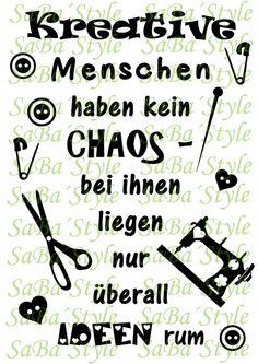 """Plotterdatei+""""Chaos""""+von+SaBa´Style+by+Sandra+Balzer+auf+DaWanda.com"""