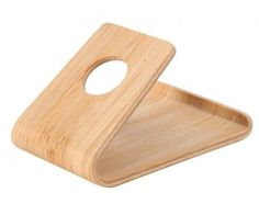 Praktikus bambusz asztali telefon tartó - kitámasztó állvány, mely remek apró irodai telefonos ajándék ötlet! Iphone