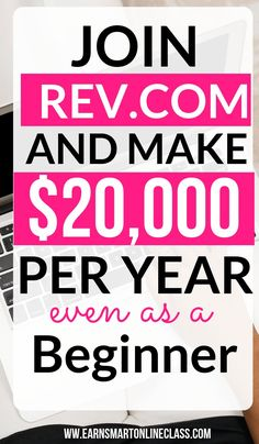 Looking for a new side hustle idea to make you money for free? You can join Rev Work From Home Careers, Online Jobs From Home, Work From Home Opportunities, Work From Home Tips, Career Opportunities, Online Work, Earn Money From Home, Earn Money Online, Way To Make Money
