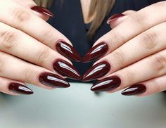Red Diamond from Natalia Siwiec Collection by Renata Mastalska, Indigo Young Chrzanów #nails #nail #indigo #red #natalia #siwiec #autumn #fall #omg #wow #hot #sexy