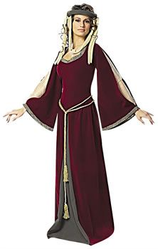 Costume Store - Maid Marian (Robin Hood) : Historical Deluxe Adult Costumes