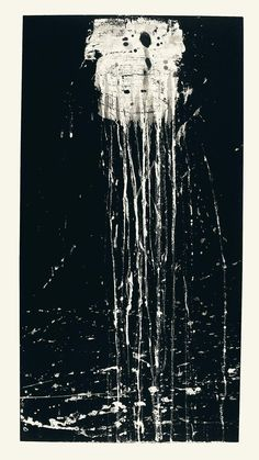 Pat Steir: The Dragon King's daughter waterfall, 1993