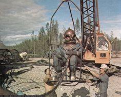 River Pilgrim - журнал Михаила Архипова - Как строили БАМ: фотоальбом о строительстве и жизни на ударной стройке