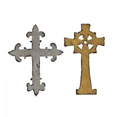 Sizzix Bigz Die - Ornate Crosses