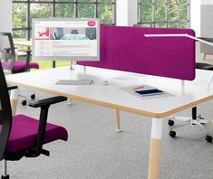 Bright office furniture