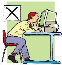 """health and safety when using a computer essay Safety and health"""" is used throughout its contents, on the understanding that  fundamental principles of occupational safety and health, based on the."""