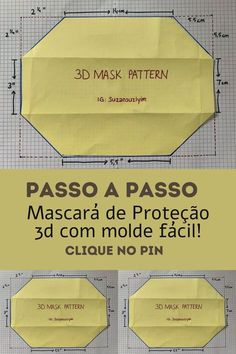 Face Masks For Kids, Easy Face Masks, Diy Face Mask, Sewing Hacks, Sewing Tutorials, Crochet Mask, Mask Template, Protective Mask, Diy Mask