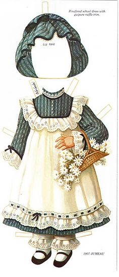 The 1907 Jumeau Paper Dolls by Peck Aubry