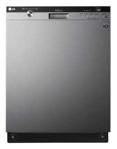 LG LDS5540 Semi-Integrated Dishwasher with Flexible EasyRack Plus System, Stainless Steel - http://bestdishwashershop.net/lg-lds5540-semi-integrated-dishwasher-with-flexible-easyrack-plus-system-stainless-steel