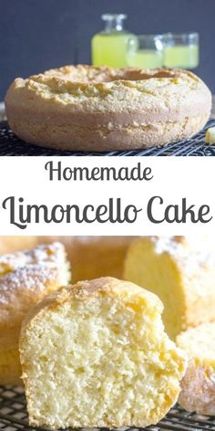 Sep 2019 - A refreshing simple Limoncello Cake, the perfect dessert or perfect with a cup of tea or coffee.Sep 2019 - A refreshing simple Limoncello Cake, the perfect dessert or perfect with a cup of tea or coffee. Lemon Desserts, Lemon Recipes, Just Desserts, Sweet Recipes, Baking Recipes, Delicious Desserts, Dessert Recipes, Yummy Food, Italian Desserts