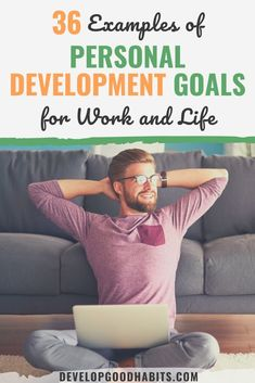 25 Examples of Personal Development Goals for Work and Life Check out these examples of personal development goals that will help in improving your work habits and life Development Goals For Work, Personal Development Plan Example, Self Development, Professional Development Goals, Development Quotes, Smart Goals Examples, Career Goals Examples, Career Advice, Work Goals