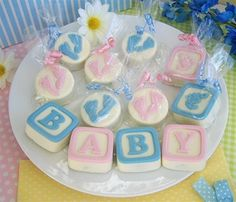 Chocolate Covered Oreo® Cookies Baby Shower Favors