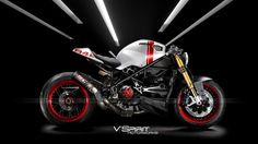 Ducati 848 modified