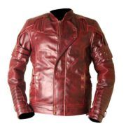 Guardians Of The Galaxy Vol 2 Waxed Faux Leather Jacket on SALE with FREE Shipping  #GuardiansOfTheGalaxyVol2 #GuardiansOfTheGalaxy2 #GuardiansOfTheGalaxy  #LM #ChrisPratt #Sale #Deals #FreeShipping #USA #UK #Europe #EU