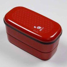 Rectangular Bento Box - Red
