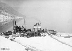 """""""Statens Eiendom Maarvikmogen i Tinn. Fra a/s Rjukanfos's Sandtak. Ww2, Norway, Train"""