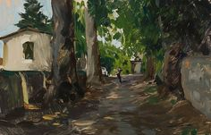 Our Driveway | 8 x 12 in. | Marc Dalessio | Flickr