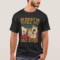 Dogs Golden Retriever, Retriever Dog, Father's Day T Shirts, Shiba Inu, Tshirt Colors, Adulting, Colorful Shirts, Retro Vintage, Shirt Designs