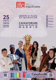 Día 25 de Abril en CaixaForum, Tercera edición española del Festival Internacional de Lengua y Culturas