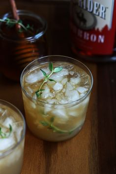 Bourbon Thyme Cocktail Recipe