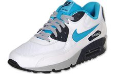 Nike Air Max 90 Essential White/Neon Turquoise