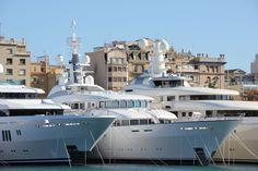 Port Vell Yachthafen in Barcelona