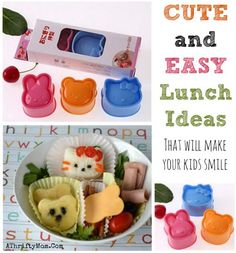 Bento Box Lunch ideas, Fun school lunch ideas, Cute and easy food that will make your kids smile, finger food for kids
