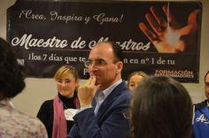7ª EDICIÓN MAESTRO DE MAESTROS, nov 14. Muy participativos, como debe ser...!  Nos visitó @joseballesteros #maestrodemaestros #josepecoach #coaching